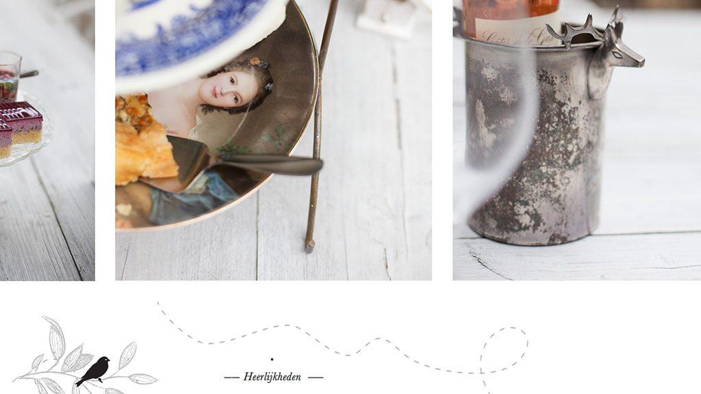 Theehuis fotografie, vormgeving en website realisatie